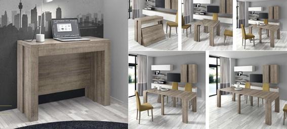 Mesa multifuncional de madera